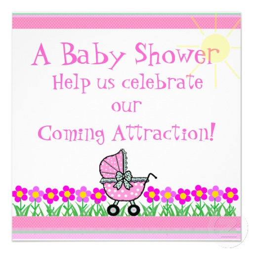 baby shower girl template customise it invitation