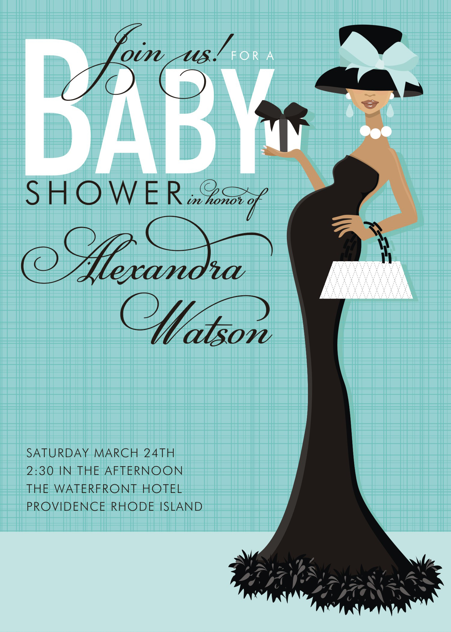 Baby shower postcard template jeppefm baby shower postcard template filmwisefo Gallery