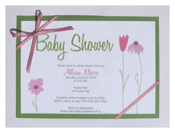 diy printable baby shower invitation template