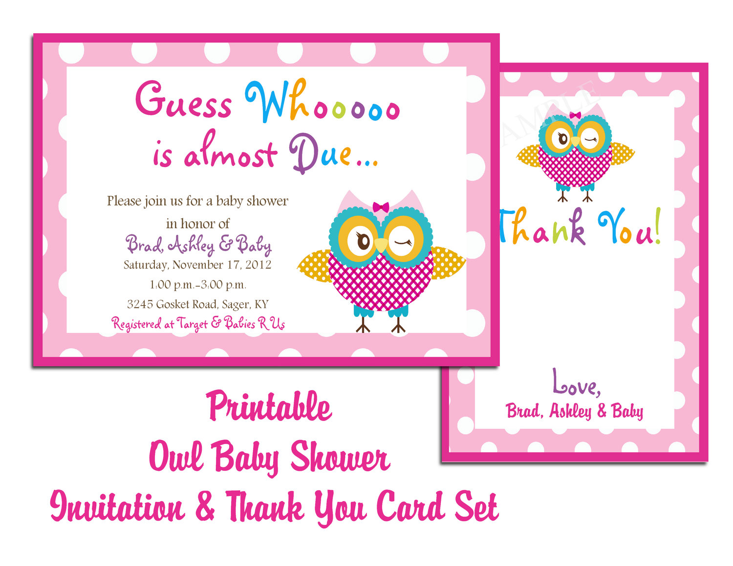 office baby shower invite